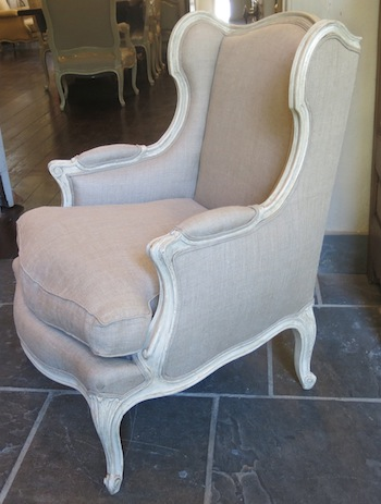 Antique French Bergere de Provence