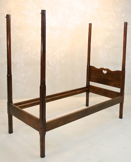Antique French Four Post Bed