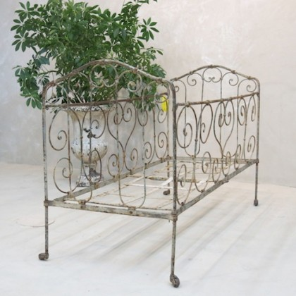 French Antique Crib
