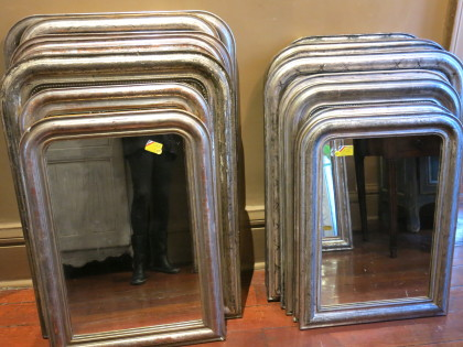 Louis Philippe Mirrors Silver